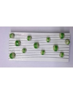 Tempel kummist jõuluküünal